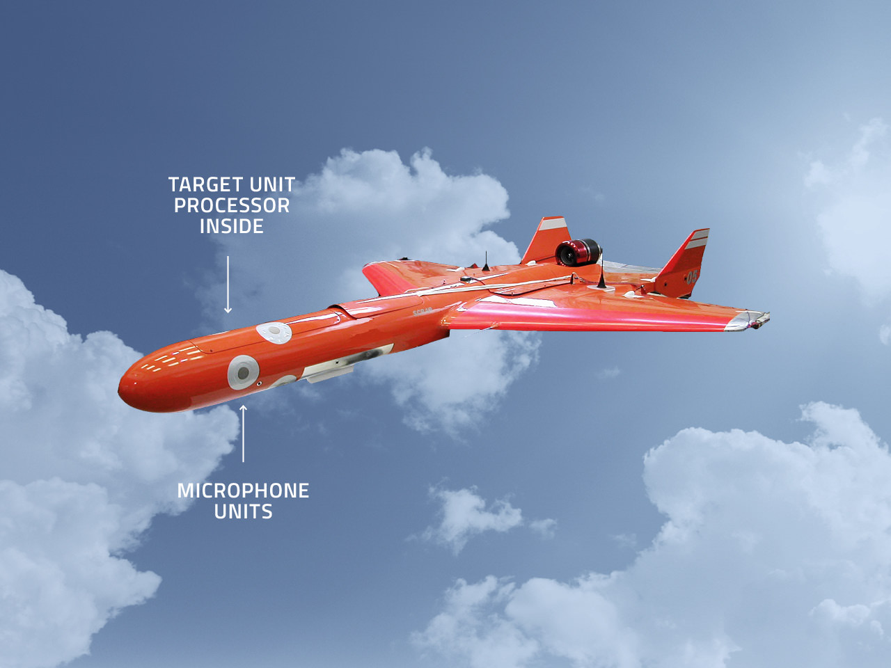 Integration target drone miss distance indicator 135