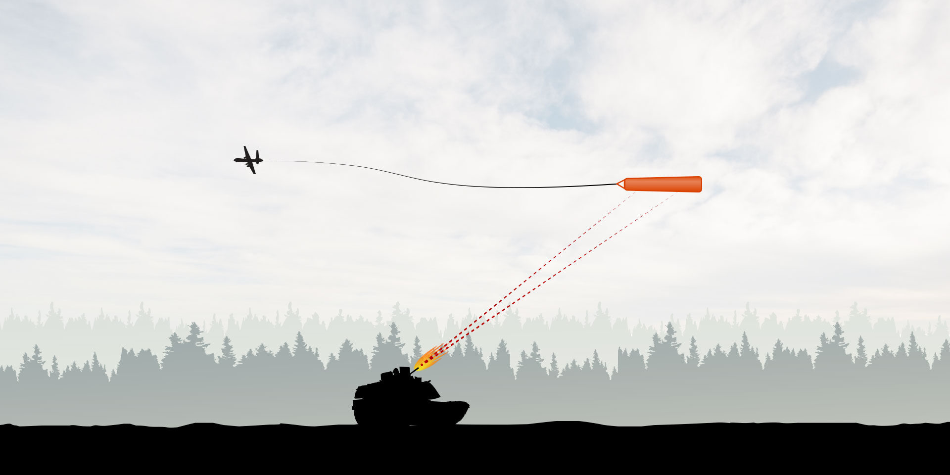 ground-to-air target training